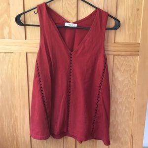 Red Madewell Tank